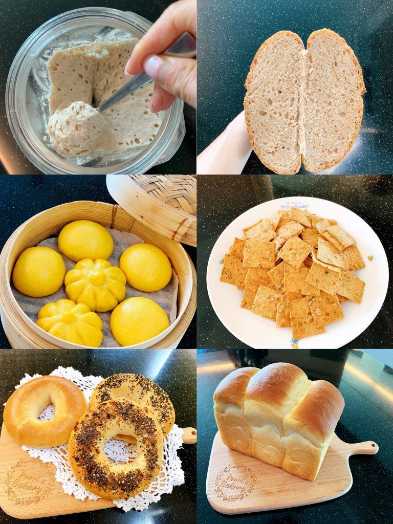 酸種的培植及應用 Sourdough starter cultivation and application to bread recipes