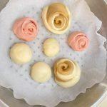 Rose buns